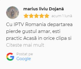 marius liviu dojana recenzie iptv romania in google