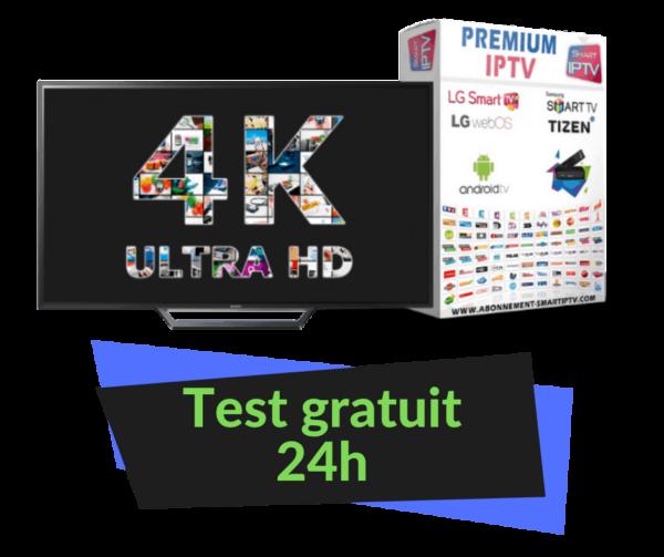 test gratuit iptv 24 ore
