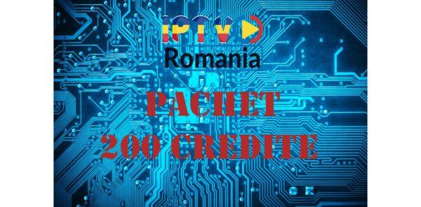 pachet reseller iptv romania 200 credite