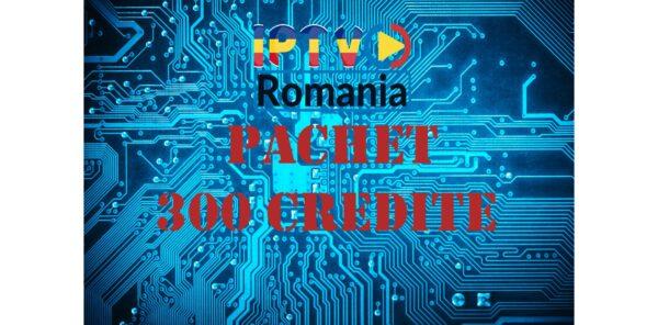 pachet reseller iptv romania 300 credite
